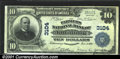 National Bank Notes:Pennsylvania, Kittanning, PA - $10 1902 Plain Back Fr. 624 The Farmers ...