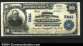 National Bank Notes:Pennsylvania, Masontown, PA - $10 1902 Plain Back Fr. 633 The First NB...