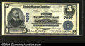 National Bank Notes:Pennsylvania, New Berlin, PA - $5 1902 Plain Back Fr.599 The First NB...