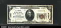 National Bank Notes:Pennsylvania, New Holland, PA - $20 1929 Ty. 1 The Farmers NB Ch. # 8...