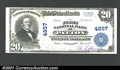 National Bank Notes:Pennsylvania, Patton, PA - $20 1902 Plain Back Fr, 656 The First NB C...