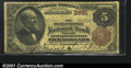 National Bank Notes:Pennsylvania, South Bethlehem, PA - $5 1882 Brown Back Fr. 470 The Sout...