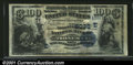 National Bank Notes:Pennsylvania, Tionesta, PA - $100 1882 Date Back Fr. 568 The First NB...