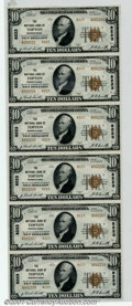National Bank Notes:Pennsylvania, Topton, PA - $10 1929 Ty. 2 The NB of Topton Ch. # 8223...