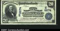 National Bank Notes:Pennsylvania, Turtle Creek, PA - $20 1902 Plain Back Fr. 650 First NB...