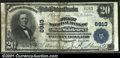 National Bank Notes:Pennsylvania, West Middlesex, PA - $20 1902 Plain Back Fr. 650 The Firs...