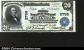 National Bank Notes:Tennessee, Bristol, TN - $20 1902 Plain Back Fr. 650 The First NB ...