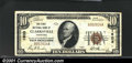 National Bank Notes:Tennessee, Clarksville, TN - $10 1929 Ty. 1 The First NB Ch. # 160...