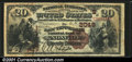 National Bank Notes:Tennessee, Knoxville, TN - $20 1882 Brown Back Fr. 499 The East Tenn...