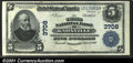 National Bank Notes:Tennessee, Knoxville, TN - $5 1902 Plain Back Fr. 600 The Third NB...