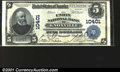 National Bank Notes:Tennessee, Knoxville, TN - $5 1902 Plain Back Fr. 604The Union NB ...