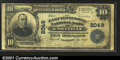 National Bank Notes:Tennessee, A Trio of Knoxville, TN Notes: - $10.00 1902 Fr.627, $20.00...