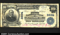 National Bank Notes:Tennessee, Lewisburg, TN - $10 1902 Plain Back Fr. 626 The First NB...