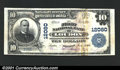 National Bank Notes:Tennessee, Loudon, TN - $10 1902 Plain Back Fr. 634 The First NB C...