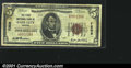 National Bank Notes:Virginia, Gate City, VA - $5 1929 Ty. 1 The First NB Ch. # 7208...