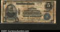National Bank Notes:Virginia, Martinsville, VA - $5 1902 Plain Back Fr. 601 The Peoples...