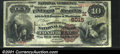 National Bank Notes:Wisconsin, Fond Du Lac, WI - $10 1882 Brown Back Fr. 490 The Commerc...
