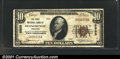 National Bank Notes:Wisconsin, Oconomowoc, WI - $10 1929 Ty. 1 The First NB Ch. # 5505...