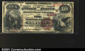 National Bank Notes:Wyoming, Laramie, WY - $10 1882 Brown Back Fr. 487 The First NB ...