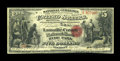 National Bank Notes:Vermont, Hyde Park, VT - $5 Original Fr. 397 The Lamoille County NB Ch. # 1163. ...