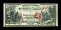 National Bank Notes:Wisconsin, Neenah, WI - $5 1875 Fr. 405 The Manufacturers NB Ch. # 2603. ...