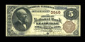 National Bank Notes:Colorado, Leadville, CO - $5 1882 Brown Back Fr. 470 The American NB Ch. #3949. ...