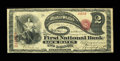 National Bank Notes:Pennsylvania, Lock Haven, PA - $2 Original Fr. 387 The First NB Ch. # 507. ...