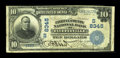 National Bank Notes:West Virginia, Fayetteville, WV - $10 1902 Plain Back Fr. 626 The Fayette County NB Ch. # (S)8345. ...