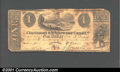 Obsoletes By State:Ohio, 1840 $1 Cincinnati & Whitewater Canal Co., Cincinnati, OH,VG....
