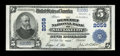 National Bank Notes:Utah, Salt Lake City, UT - $5 1902 Plain Back Fr. 602 The Deseret NB Ch. # 2059. ...