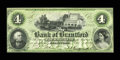 Canadian Currency: , Brantford, CW- The Bank of Brantford $4 Nov. 1, 1859 Ch. # 40-10-02-06. ...