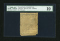 Colonial Notes:Pennsylvania, Pennsylvania March 10, 1769 2s PMG Very Good 10....