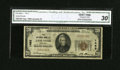 National Bank Notes:Kentucky, Lancaster, KY - $20 1929 Ty. 1 The NB of Lancaster Ch. # 1493. ...