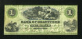Canadian Currency: , Brantford, CW- The Bank of Brantford $1 Nov. 1 1859 Ch. #40-10-02-02a. ...