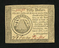 Colonial Notes:Continental Congress Issues, Continental Currency September 26, 1778 $50 Choice About New....