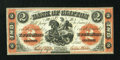 Canadian Currency: , Clifton, PC- Bank of Clifton $2 Sept. 1, 1861 Ch. # 125-12-12 . ...