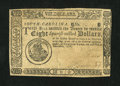 Colonial Notes:South Carolina, South Carolina December 23, 1776 $8 Extremely Fine....