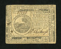 Colonial Notes:Continental Congress Issues, Continental Currency May 10, 1775 $6 Very Fine-Extremely Fine....