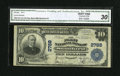 National Bank Notes:Kentucky, Stanford, KY - $10 1902 Plain Back Fr. 624 The First NB Ch. # 2788....