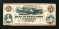 Canadian Currency: , Sault St. Marie, CW- The Bank of Brantford $5 Nov. 1, 1859 Ch. #40-12-08R Remainder. ...