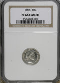 Proof Barber Dimes, 1896 10C PR66 Cameo NGC....