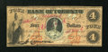 Canadian Currency: , Toronto, CW- Colonial Bank of Canada $4 May 4, 1859 Ch. #130-10-04-08. ...