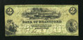 Canadian Currency: , Brantford, CW- The Bank of Brantford $2 Nov. 1, 1859 Ch. #40-10-04-04. ...