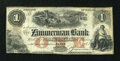 Canadian Currency: , Elgin, PC- The Zimmerman Bank $1 185x Ch. # 815-12-02-02RRemainder. ...