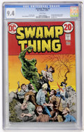 Bronze Age (1970-1979):Horror, Swamp Thing #5 (DC, 1973) CGC NM 9.4 White pages....