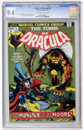 Bronze Age (1970-1979):Horror, Tomb of Dracula #6 (Marvel, 1973) CGC NM 9.4 Off-white to whitepages....