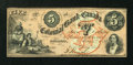 Canadian Currency: , Toronto, CW- The Colonial Bank of Canada $5 May 4, 1859 Ch. #130-10-04-10. ...
