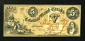 Canadian Currency: , Toronto, CW- The Colonial Bank of Canada $5 May 7, 1859 Ch. #130-10-02-10. ...