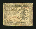Colonial Notes:Continental Congress Issues, Continental Currency February 17, 1776 $3 Very Fine-ExtremelyFine....