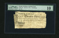 Colonial Notes:North Carolina, North Carolina March 9, 1754 20s PMG Very Good 10....